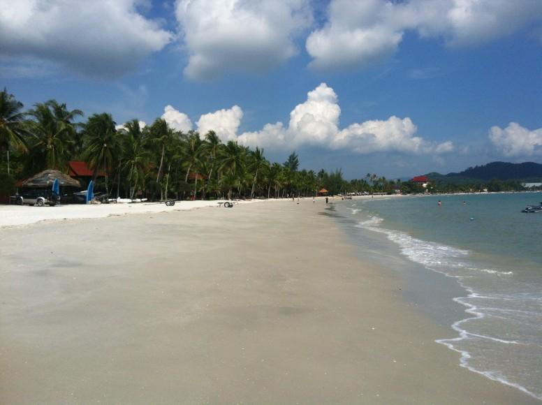 Pentai Cenang Plajı